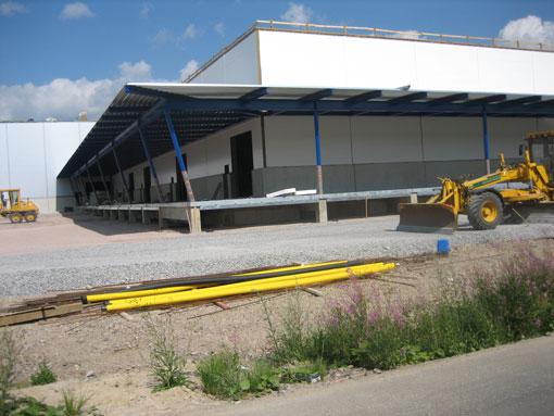Teräsnyrkki - Kaukohuolinta Logistiikkakeskus